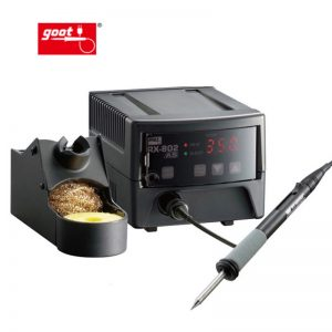 תחנת הלחמה GOOT | RX-802AS lead-free soldering unit 80W