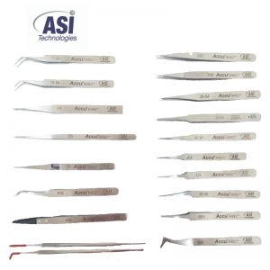 ASI | פינצטה אנטי-מגנטית אל חלד.
